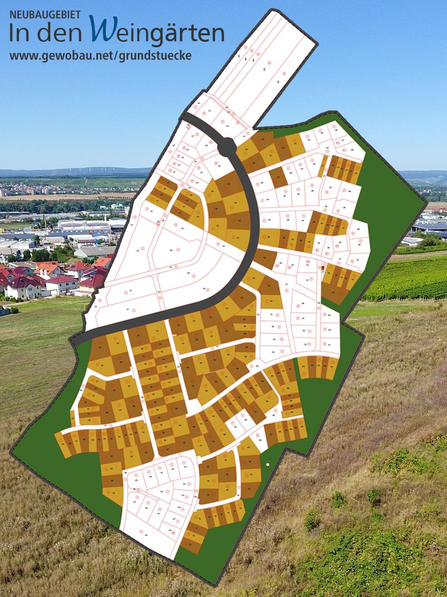 Neubaugebiet in den Weingaerten 55543 Bad Kreuznach
